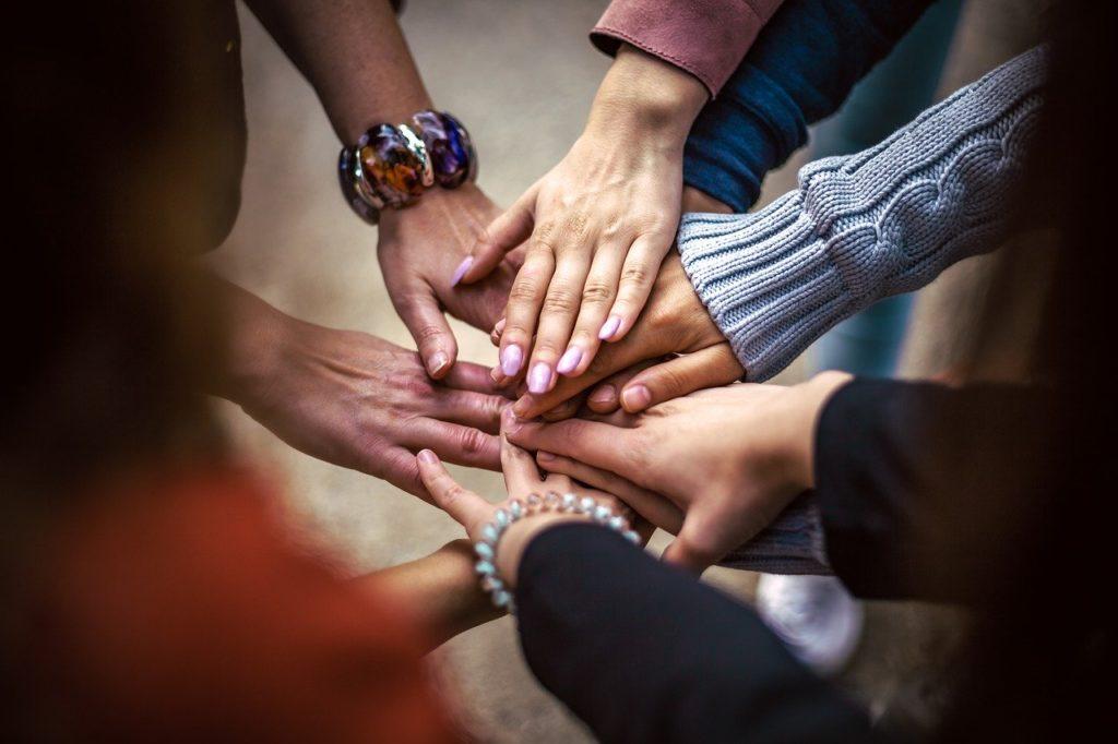 team, friendship, group
